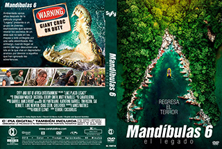 Lake Placid Legacy - Mandibulas 6 El Legado - Cover DVD